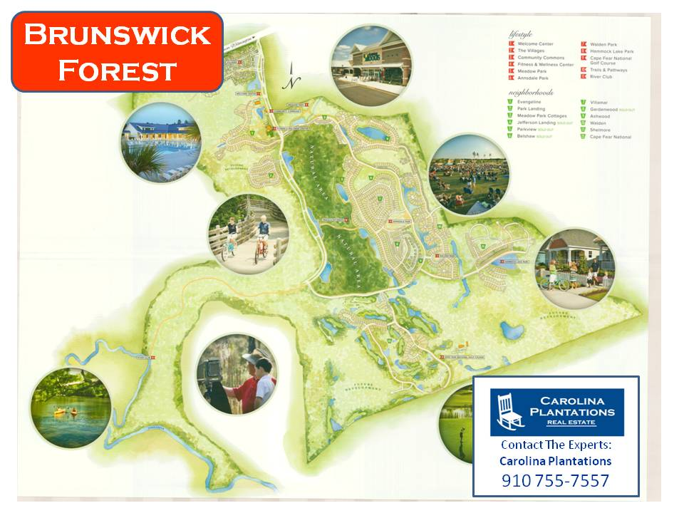 Brunswick Forest Community Map